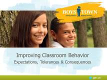 Webinar from Boys Town National Training